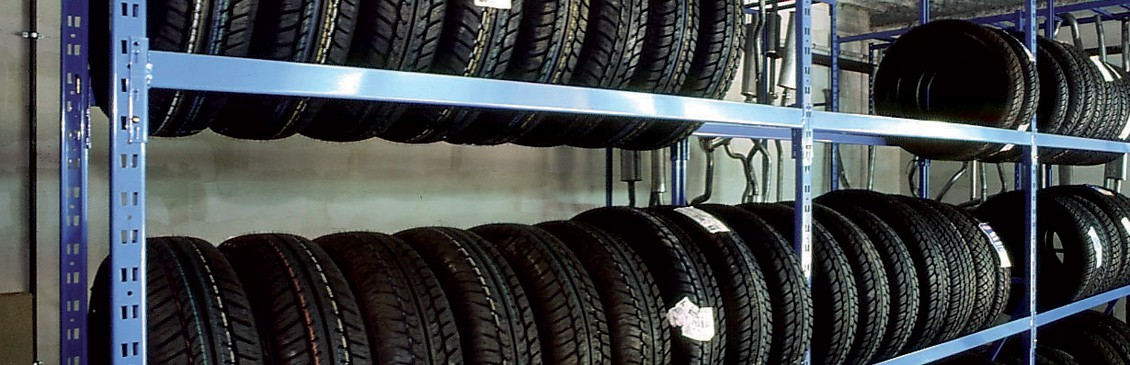 Rayonnage pneu Tixit