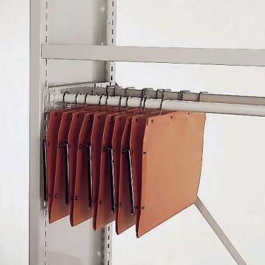 Cadre à tubes pour dossiers suspendus